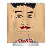 My Man Shower Curtain