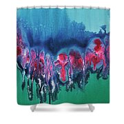 My Melted Heart Shower Curtain