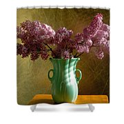 My Mother's Lilacs Shower Curtain