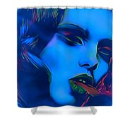 My Name Is Ice Cold Lady Shower Curtain