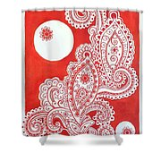My Name Is Red Shower Curtain