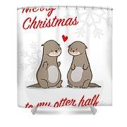 My Otter Half Shower Curtain