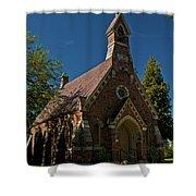 My Redeemer Lives Church Shower Curtain