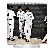 My Rock Collection - Colorado Rockies Shower Curtain