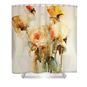 My Roses Shower Curtain