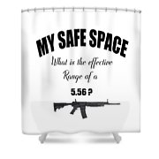 My Safe Space Shower Curtain