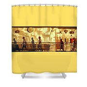 My Shadows 1 Shower Curtain