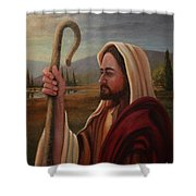 My Shepherd  Shower Curtain