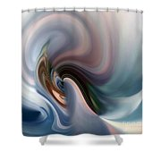 My Soft Atmosphere Shower Curtain