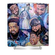 My Song Tribute To The Late Gerald Levert Shower Curtain