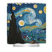 My Starry Nite Shower Curtain