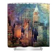 My Style Manhattan Shower Curtain