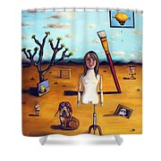 My Surreal Life Shower Curtain