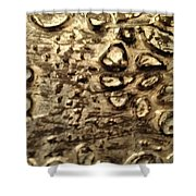 My Textured Stones C Shower Curtain