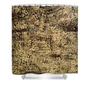 My Textured Stones D Shower Curtain