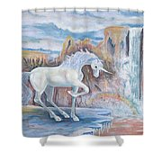 My Unicorn Shower Curtain