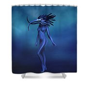 My Walking In My Shoes Girl 7 Shower Curtain