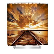 My Way Shower Curtain