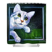 Till There Was You Shower Curtain
