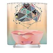 My World -2 Shower Curtain