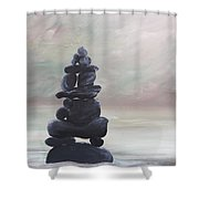 My Zen Shower Curtain