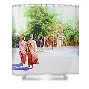 Myanmar Custom_013 Shower Curtain