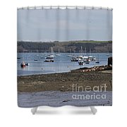 Mylor Panorama Shower Curtain