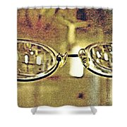 Myopia At The Museum Shower Curtain