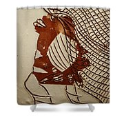 Myra - Tile Shower Curtain