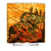 Myriad - Tile Shower Curtain