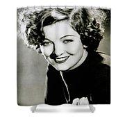 Myrna Loy Shower Curtain
