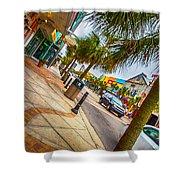 Myrtle Beach Shopping Shower Curtain