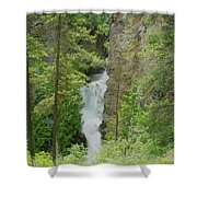 Myrtle Creek Falls  Shower Curtain
