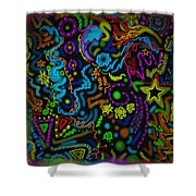 Mysteries Of The Night Shower Curtain