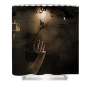 Mysteries Of Time Shower Curtain