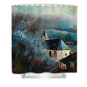 Mysterious Chapel Shower Curtain