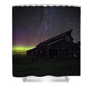 Mysterious Lights Shower Curtain
