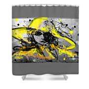Mystery Lady  Shower Curtain