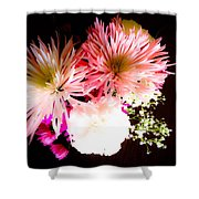 Mystery Of A Flower Shower Curtain