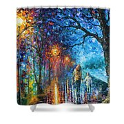 Mystery Of The Night Shower Curtain