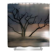 Mystery Tree Shower Curtain