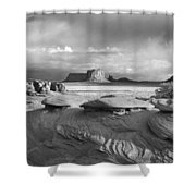 Mystery Valley Overlook Ir 0550 Shower Curtain