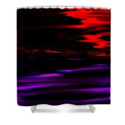 Mystery World Shower Curtain