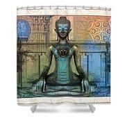 Mystic Ancient Prayers  Shower Curtain