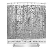Mystic Aspen Copse Shower Curtain