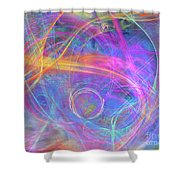 Mystic Beginning Shower Curtain