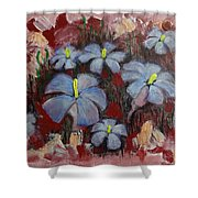 Mystic Bloom Shower Curtain