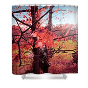 Mystic Day  Shower Curtain