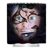 Mystic Gaze Shower Curtain