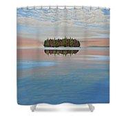 Mystic Island Shower Curtain